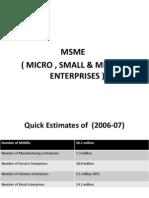 Micro Small & Medium Enterprises
