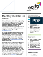 Ecdp Email Bulletin 37 - FINAL