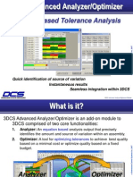 3DCS Advanced Analyzer-Optimizer