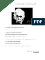 Hipotesis de La Gravedad
