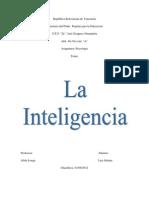 La Inteligencia - Psicologia