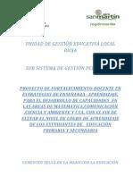 Proyecto Estrategias Planta Cemento 2012