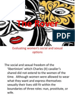 Evaluating women's social and sexual options
