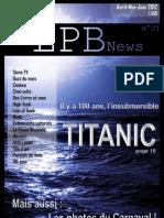 Le LPB News n°21 - Avril-Mai-Juin 2012 - VI