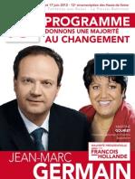 Le programme de Jean-Marc Germain
