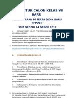 Info ran Ppdb Sma
