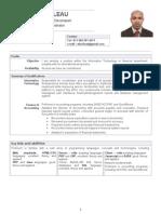 Boileau Resume -CV