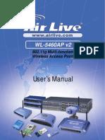 AirLive WL-5460APv2 e9 Manual