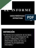 Estructura Del Informe Para Las Visitas Guiadas de Telefonia y Transmision de Datos