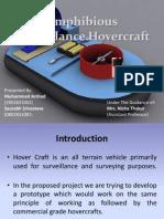 Amphibious Surveillance Hovercraft,Major Project,Final Year,Btech-EC,2011-12