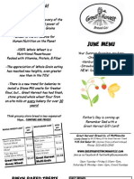 McMinnville June 12 Menu Flier