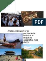 Analiza Indicatorilor de Per for Manta Turistica in Regiunea Geografica Asia de Est