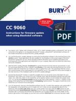 CC 9060 - En - Update Instructions - BlueSoleil