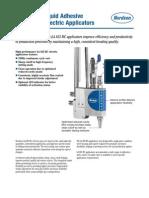 LA 825 RC Liquid Adhesive Dispensing Electric Applicators