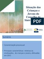 Relatório de 2011 das Comissões de Protecção de Crianças e Jovens de Sintra