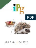 2012 Fall IPG Gift Books Catalog