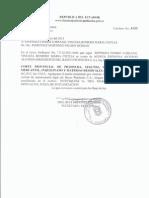 Documentos judiciales