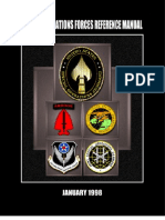 Special Operation Forces Reference Manual January 1998
