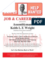 June 2012 Job and Career Fair Invitation