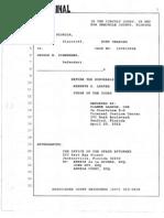 Zimmerman April 20, 2012 Hearing Transcript