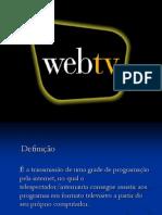 Apresentação WebTv