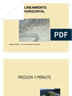 to Horizontal Friccion y Peralte