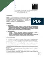 Bases XVI Concurso de Proyectos EXPLORA Conicyt