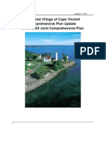 Town and Village of Cape Vincent FINAL Joint Comprehensive Plan - August 1, 2012