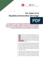 Ser mujer en la República Democrática del Congo