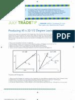 Trade Tips - 2nd Half - 2011