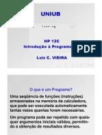 HP12C Basic Programming PO