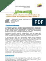 Agenda Seminario Contratacion[1]