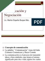 Comunicación y Negociación sesion I