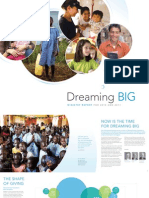 """NCF """"Dreaming Big"""" Ministry Report"""
