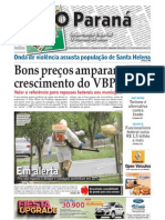 O Paraná - edição especial - 15 de maio 2012 - 36 anos