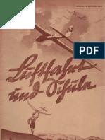 Luftfahrt und Schule - Zeitschrift 1935 unvollständig , Volckmann
