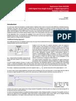 AN2508 Digital Pulse Height Analyser
