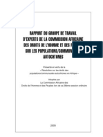 African Commission Book French