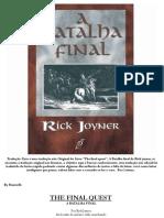 A Batalha Final Rick Joyner