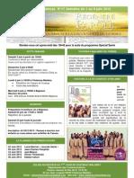 Bulletin d'annonces N°17 semaine du 2 juin au 9 juin 2012