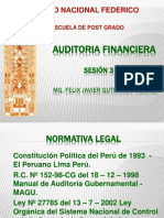 AUDITORIA FINANCIERA sesión 3