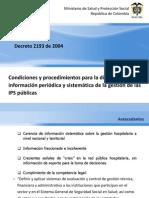 Decreto 2193 de 2004