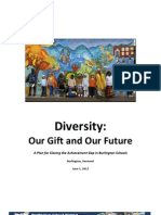 The Burlington School District's Diversity Plan Diversity Plan 06-01-12 FIXED (1)