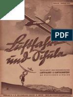 Luftfahrt und Schule - Zeitschrift 1943 unvollständig , Volckmann