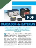 Cargador de Baterias Lx1623