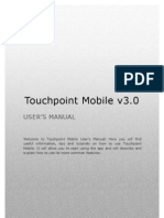 User's Manual Touch Point Mobile v3.0