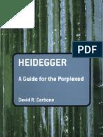 Heidegger a Guide for the Perplexed