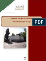 Plano Gestão Resíduos Mercado Municipal de Beja