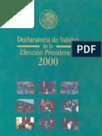 Declaratoria Validez Eleccion Presidencial