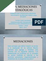 PEDAGOGÍAS MEDIADAS TRABAJO FINAL